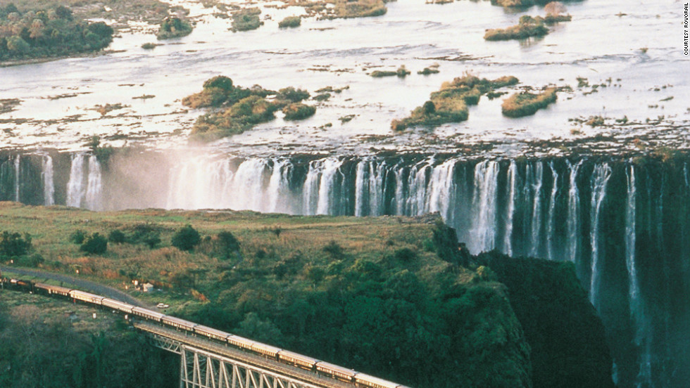 A ride aboard the Pride of Africa is a highlight of a 28-day excursion through South Africa, Zimbabwe, Tanzania, Uganda and Egypt.
