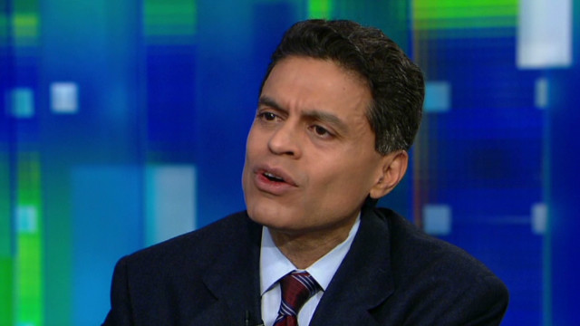 Zakaria: Israel is justified