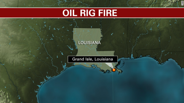 Map: Grand Isle, Louisiana