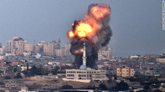 Israel-Hamas violence escalates