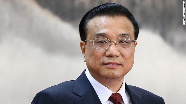 Li Keqiang named Chinese premier
