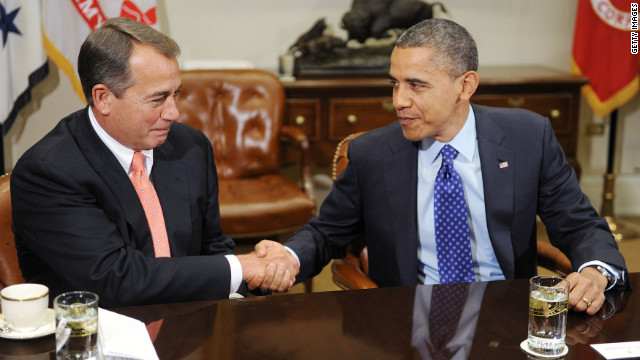 Boehner: Obamacare on the table