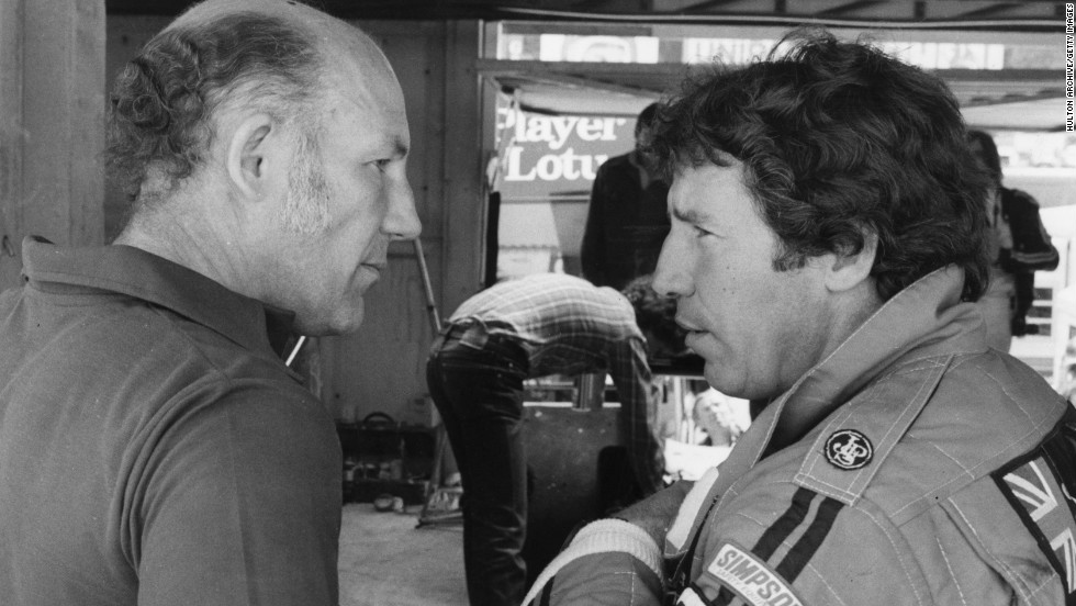 Mario Andretti (R) is one of only two American drivers to have won the Formula One title. Here he is seen talking to Stirling Moss, during his championship-winning season in 1978. He says stability is key to F1 success in the States.