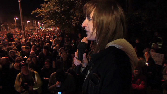 Death leads to abortion rally in Ireland