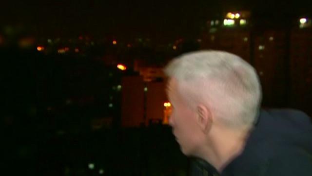 Gaza explosion rocks CNN live report