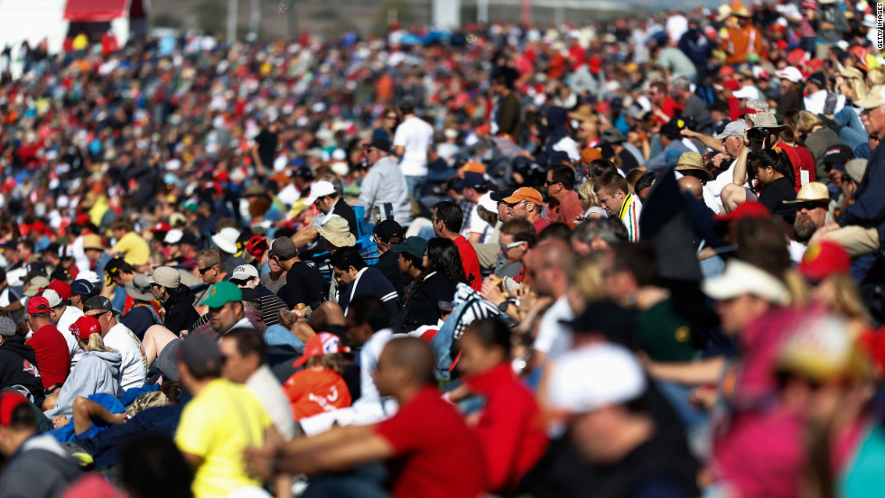 Despite the disappointment of the 2005 race, American F1 fans were out in force for Sunday's race -- with a near-capacity crowd of 117,429 in attendance.
