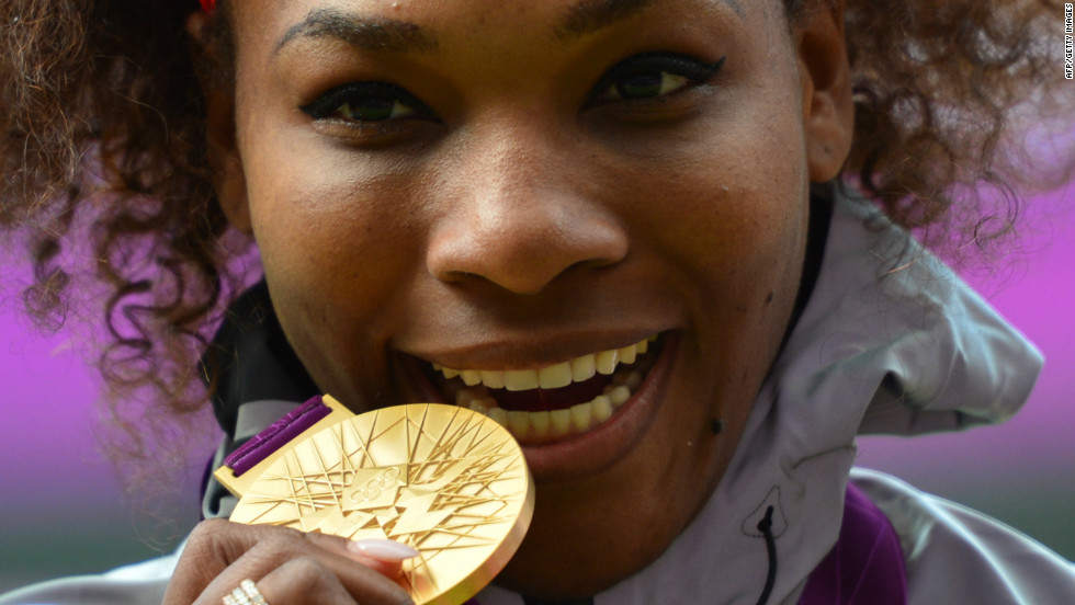 Serena didn't look back after her doubles triumph at Wimbledon, taking the singles gold at the Olympics back on the famous Centre Court.