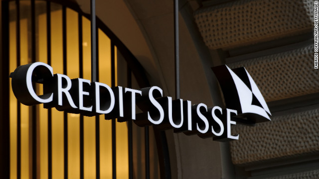 Swiss banking giant Credit Suisse is facing U.S. scrutiny on mortgage-backed securities.
