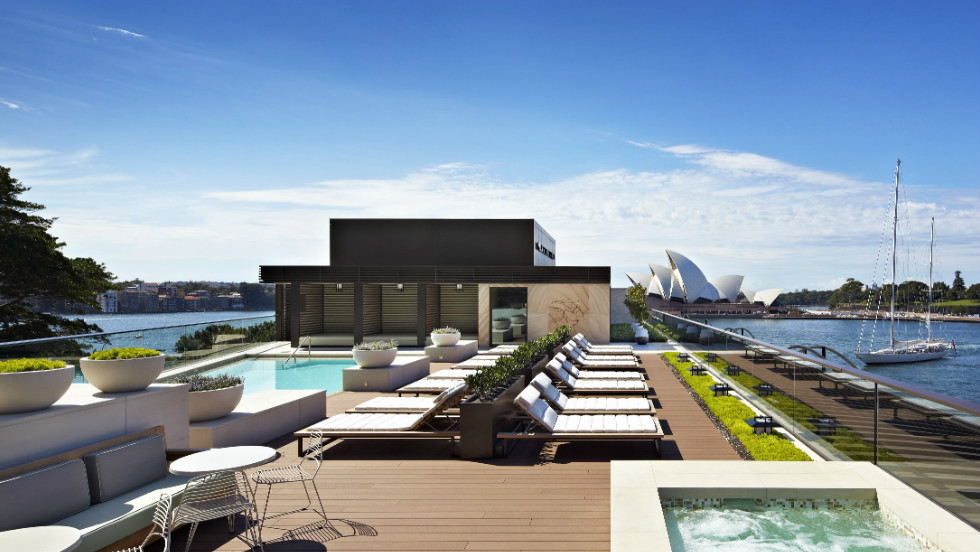 Runner up in the Wallpaper list, and relaunched after a luxurious AU$65m ($68m) makeover earlier this year, Park Hyatt Sydney is a low-slung sandstone structure located within the historic rocks district on Sydney Harbour's Campbell's Cove.