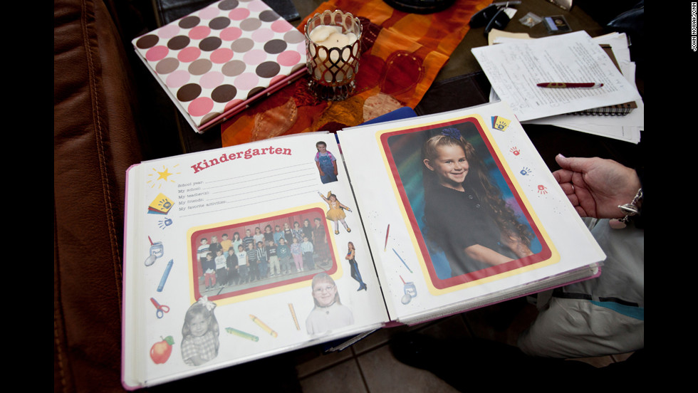 The McCarthys have several scrapbooks dedicated to their daughter. The images include family vacations, summer camp trips and many of Mariah's school drawings.