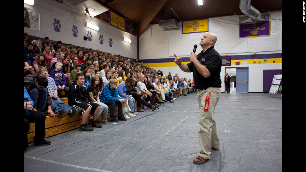 """More than 140 teenagers have received $1,000 scholarships. """"Mariah's Challenge stands for integrity, character and honesty and living a life of simple self-respect,"""" McCarthy said."""