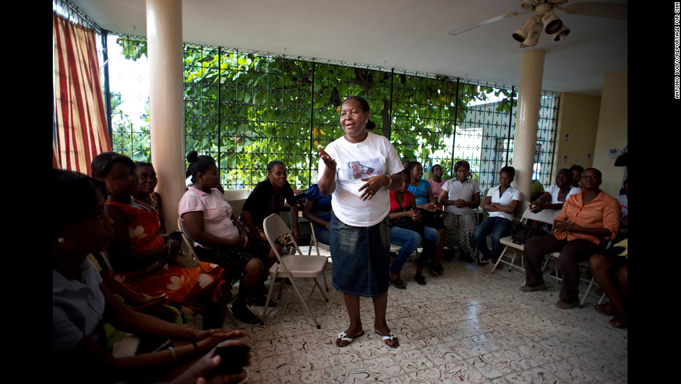 """Reports of rape and sexual violence have been all too common in Haiti after the January 2010 earthquake that killed more than 220,000 people and displaced almost 25% of the population. """"We tell people to come out of silence,"""" Villard-Appolon said. """"Do not be afraid to say that you have been victimized."""""""
