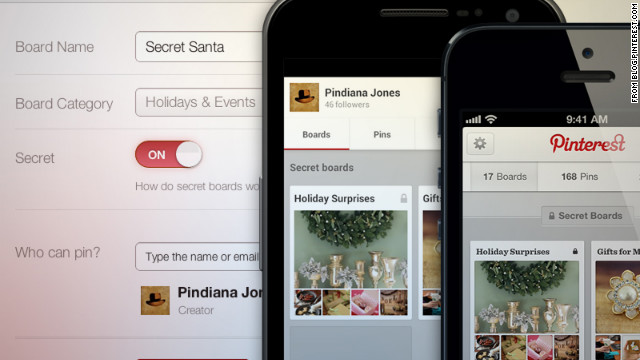 """Pinterest, the social network that lets users """"pin"""" collections of images, offer some fresh approaches to online gift-giving."""