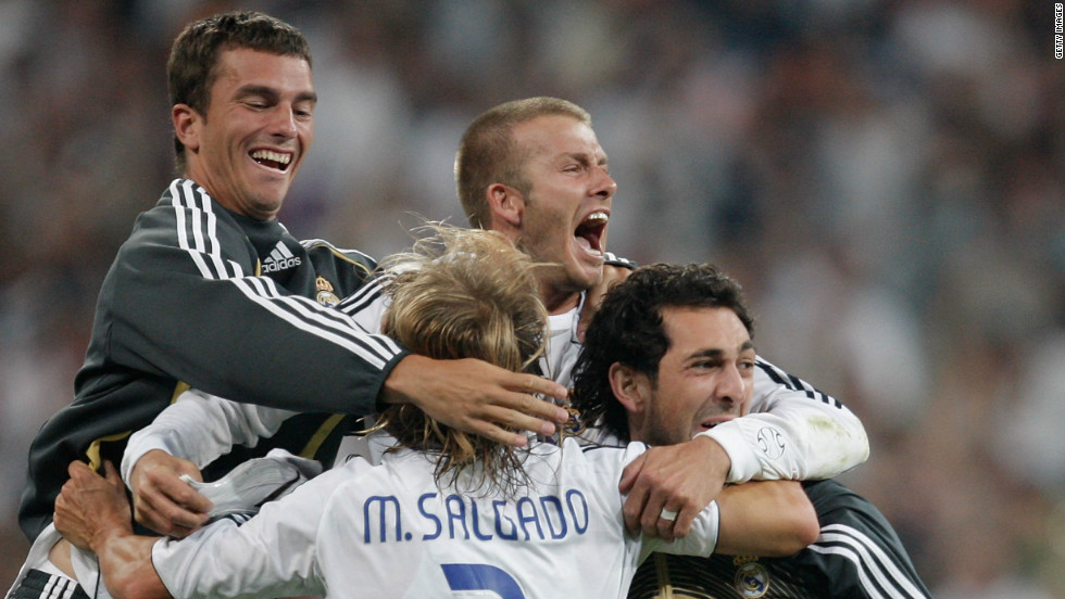 But Beckham's spell in Madrid didn't produce the trophy rush he had hoped for. His sole title came in 2007, under future England manager Fabio Capello, thanks to a win against Real Mallorca on the final day of the season.