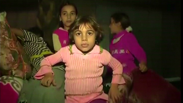Desperate battle to stay alive in Gaza