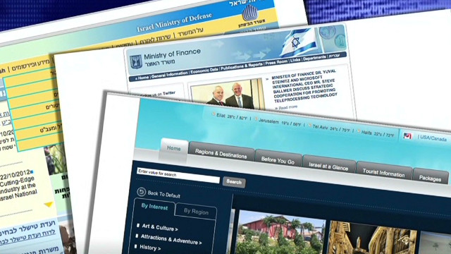 Israel hit by huge cyberattack
