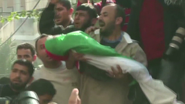 Gazans mourn children killed in attacks