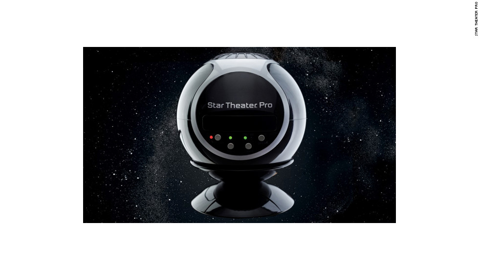 "It's hard to see stars in the sky when you live in populated areas. This gadget brings 10,000 stars into your kid's room. The $100 <a href=""http://www.nextwarehouse.com/item/?896439_g10e"" target=""_blank"">Star Theater Pro</a> from Uncle Milton is like a mini-planetarium. It comes with two disks full of images of the night sky -- one is all stars, and the other has the sun, moon and Earth (more skies are <a href=""http://unclemiltonstore.com/?itemId=E12536"" target=""_blank"">available here</a>). You can set it to rotate slowly, just like the real night sky does."