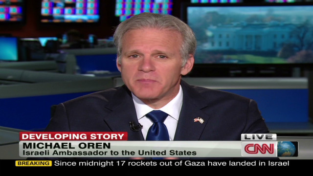 Oren: Hamas 'celebrating' bus bombing