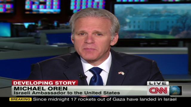 Oren: Hamas 'celebrating' bus bombing