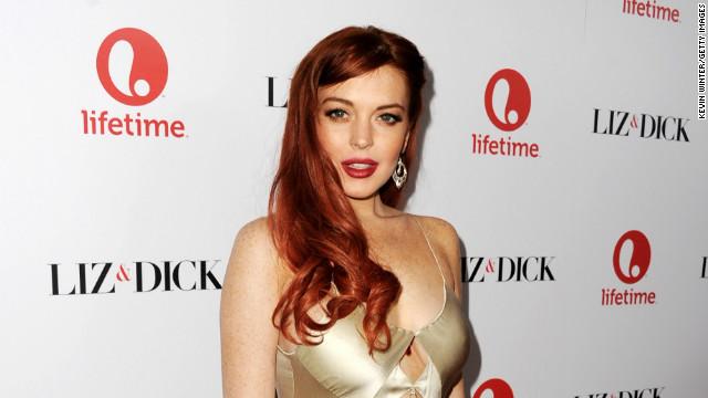 Porn star dodges Lohan's f-bombs