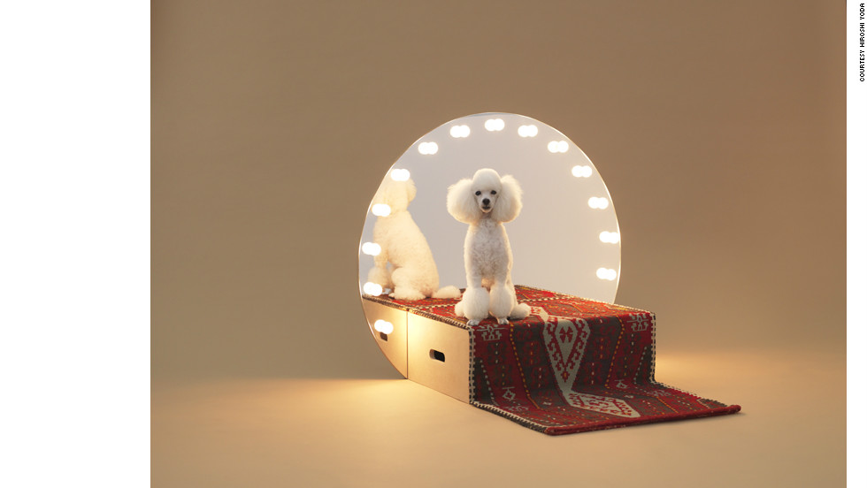 "The Architecture for Dogs website, launching on 15 November, will supply free blueprints for 13 different DIY doghouses, each earmarked for a particular breed. '""Paramount"" was designed by Konstantin Grcic for a Toy Poodle."