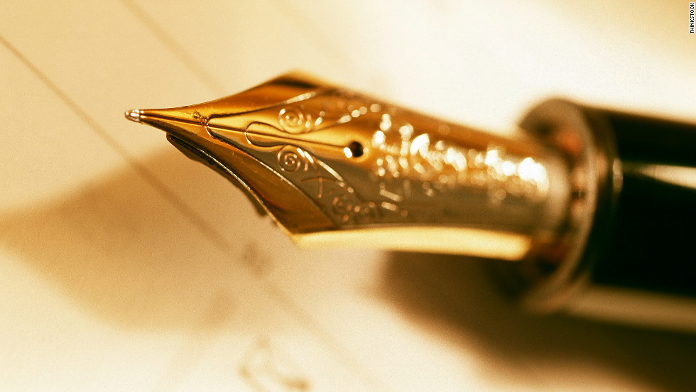 "OfThriceAndTen claimed  a ""classic man"" would value a good-quality fountain or ballpoint pen."