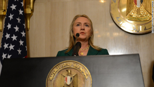 Clinton: Critical time for the region