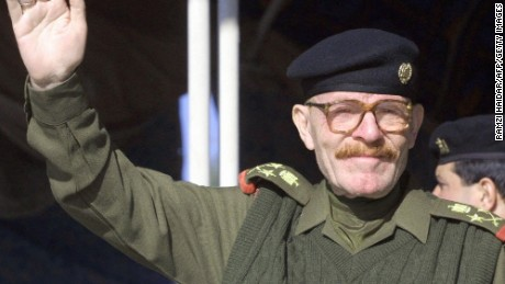 "Like many members of Saddam Hussein's inner circle and the Iraqi army, Izzat Ibrahim al-Douri, the former Deputy Chairman of the Iraqi Revolutionary Command Council, sported an impressive mustache. He raised eyebrows in 2003 when, at a diplomatic summit in the lead up to the Second Gulf War, he yelled at a Kuwaiti representative: ""Curse be upon your moustache, you traitor."""