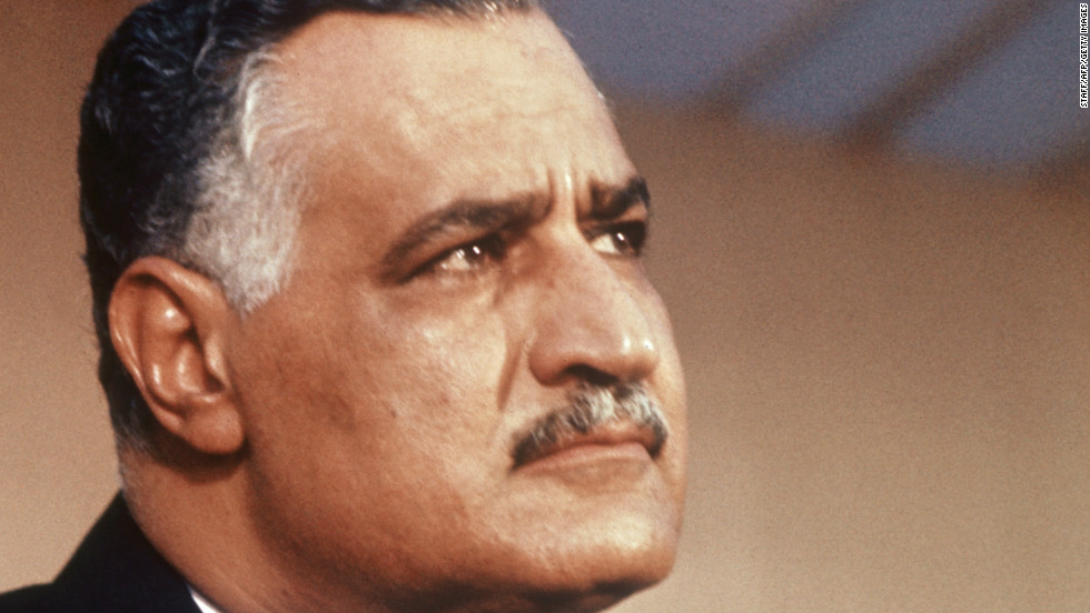 Like many prominent Arab leaders, former Egyptian President Gamal Nasser had a handsome mustache. One commentator says that in Middle Eastern culture mustaches suggest wisdom in the wearer.
