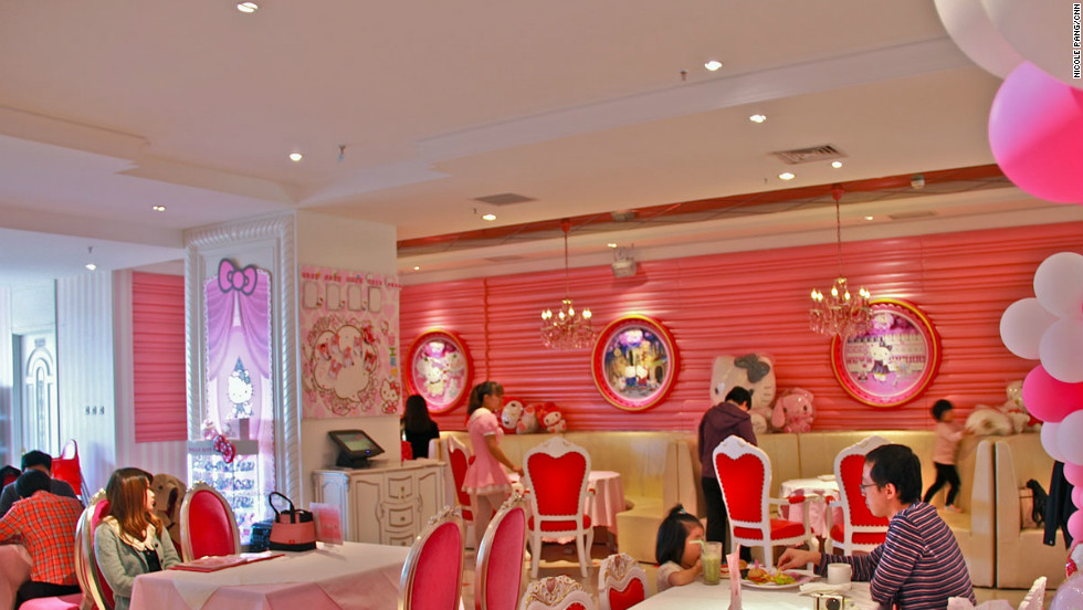 Hello kitty dining