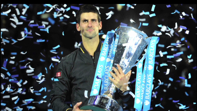 Djokovic finishes 2012 on top