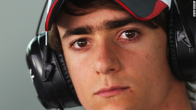 Esteban Gutierrez will replace Japan's Kamui Kobayashi at Sauber next season.