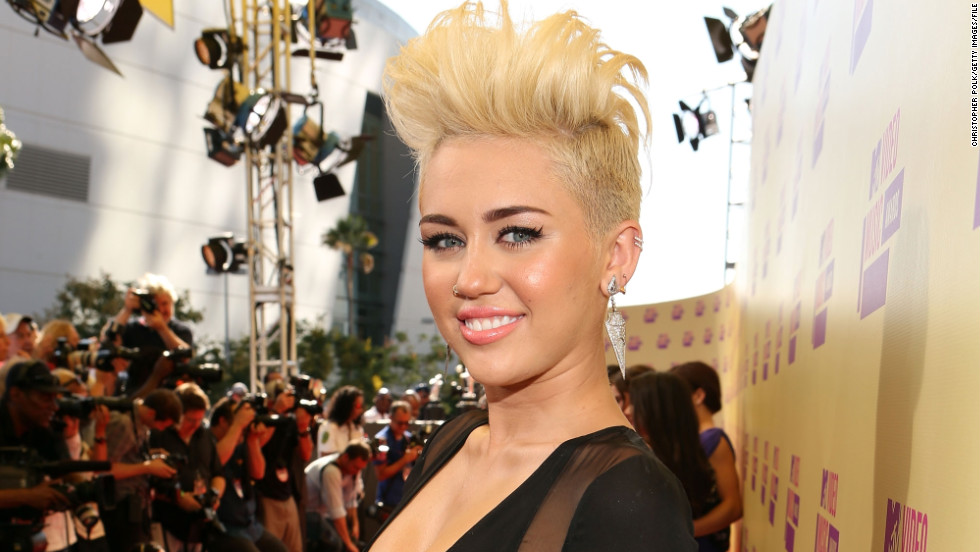 When Cyrus chopped off her hair and styled it as a bleached blonde pixie in August 2012, it was the haircut heard 'round the world.