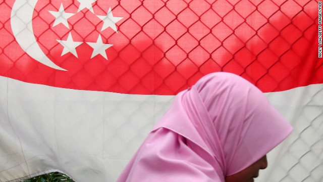Singapore as 'least emotional' country