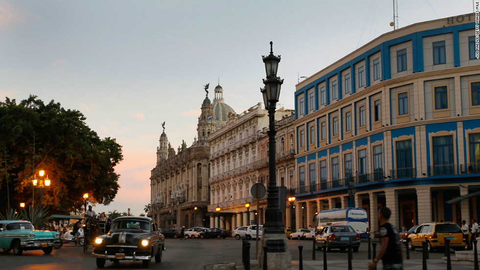 For U.S. travelers, a trip to Havana can simply be romantic because it still has the touch of the forbidden.