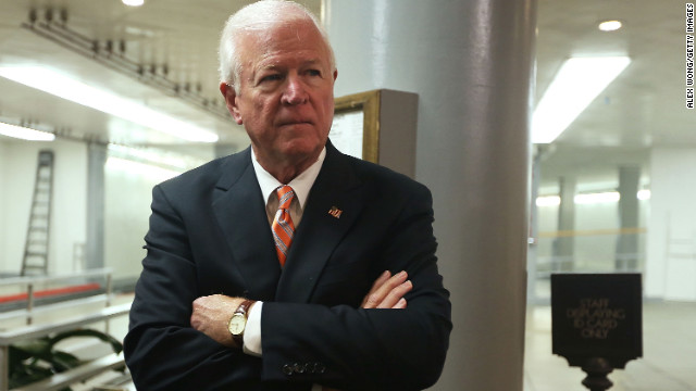 U.S. Select Committee on Intelligence ranking member Sen. Saxby Chambliss on November 16, 2012.