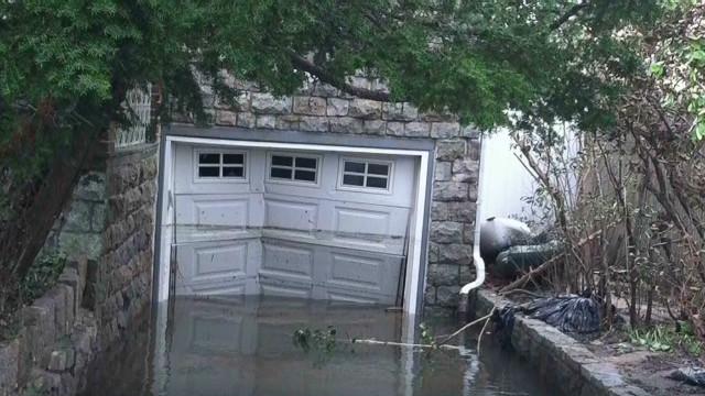 Sandy leaves health concerns in wake