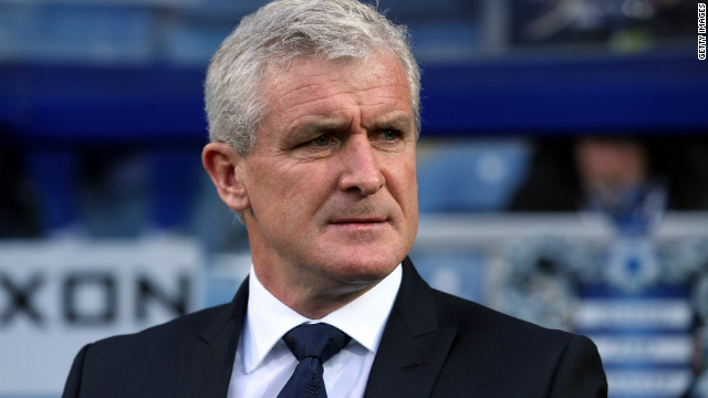 Mark Hughes, manager of QPR looks on during the Barclays Premier League match between Queens Park Rangers and Southampton at Loftus Road on November 17, 2012 in London, England.