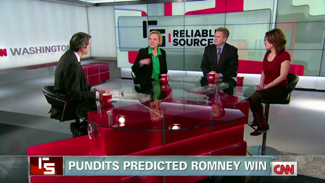 Pundits predicted Romney win