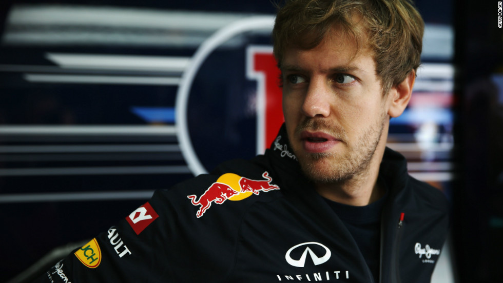Vettel began the day aiming to become the youngest ever triple world champion in Formula One. The German, 25, started fourth on the grid with McLaren's Lewis Hamilton on pole. A top four finish would be good enough for Vettel to win the title irrespective of where rival Alonso finished.