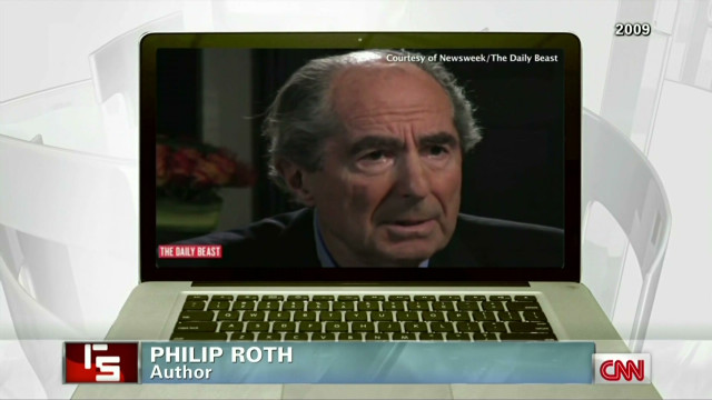 Philip Roth puts down his pen