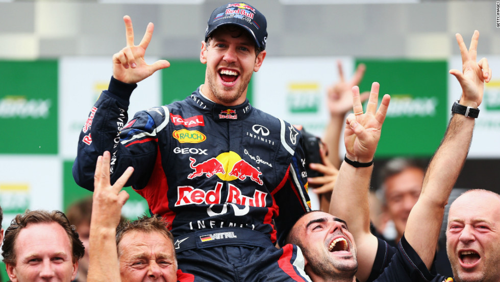Vettel aims to join Prost next year -- then five-time winner Fangio and Schumacher's magnificent seven are all that are ahead of him in his quest for total greatness.