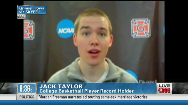 Hoops record holder speaks out