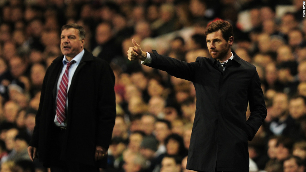 "Neither West Ham manager Sam Allardyce (L) or his Tottenham counterpart Andre Villas-Boas were keen to wade into the controversy. Allardyce told reporters at a post match press call: ""I don't want to be a political animal -- I'm here to talk about football."""