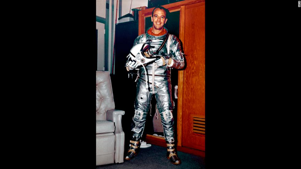 First American To Travel In Space Alan