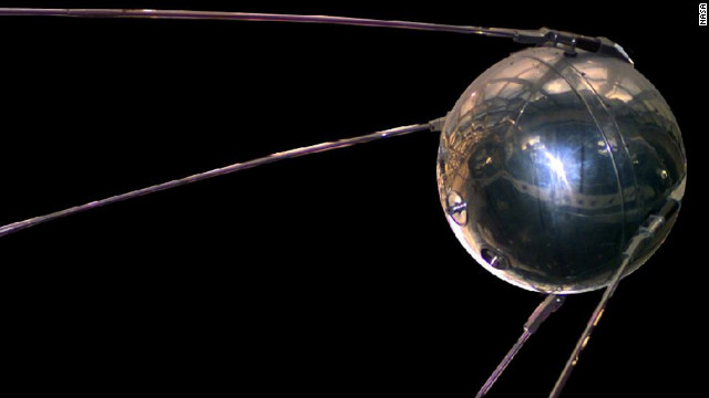 History changed on Oct. 4, 1957, when the Soviet Union successfully launched Sputnik I, the world's first artificial satellite. About the size of a beach ball and weighing about 184 pounds, it took about 98 minutes to orbit the Earth on its elliptical path. That launch ushered in new political, military, technological and scientific developments. While the Sputnik launch was a single event, it marked the start of the space age and the U.S.-U.S.S.R space race.