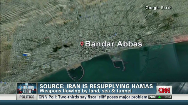 Iran continuing to arm Hamas?