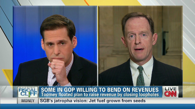 Sen. Toomey: I won't violate tax pledge