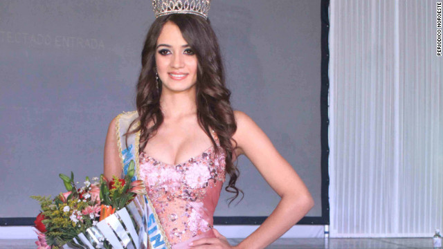 Mexican beauty queen Maria Susana Flores Gamez, 20, was killed during a weekend shootout in the state of Sinaloa.